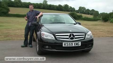 mercedes c class saloon 2007 2011 review carbuyer youtube. Black Bedroom Furniture Sets. Home Design Ideas