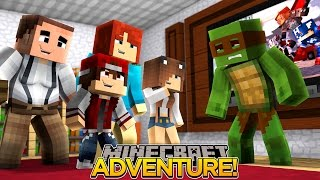 Minecraft Adventure - TINY TURTLE IS ADOPTED AND HAS A NEW FAMILY?