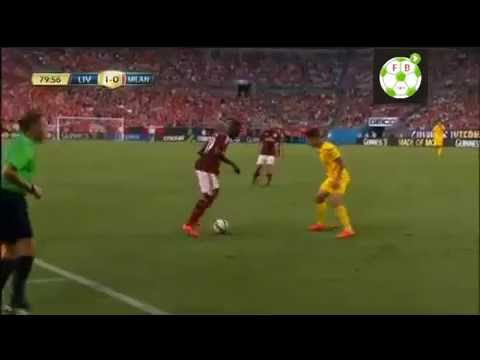 MBaye Niang vs Liverpool 2014 Skills and Assists - International Champions Cup