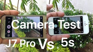 Samsung Galaxy J7 Pro vs iPhone 5s Camera Test | After 4 years 5s still better