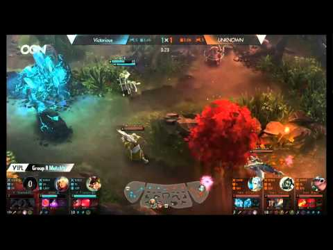 Victorious vs. Unknown - Group A - Group Stage - Vainglory International Premier League