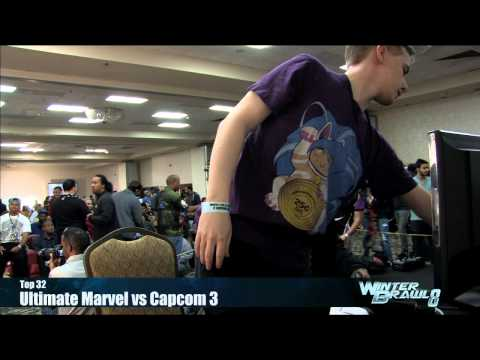 Ultimate Marvel vs Capcom 3 Top 32 Semifinals Part 5 - Winter Brawl 8 Tournament