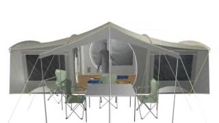 Aspiring 3-Room Canvas Tent  sc 1 st  ViYouTube & Coleman New Zealand - ViYoutube.com
