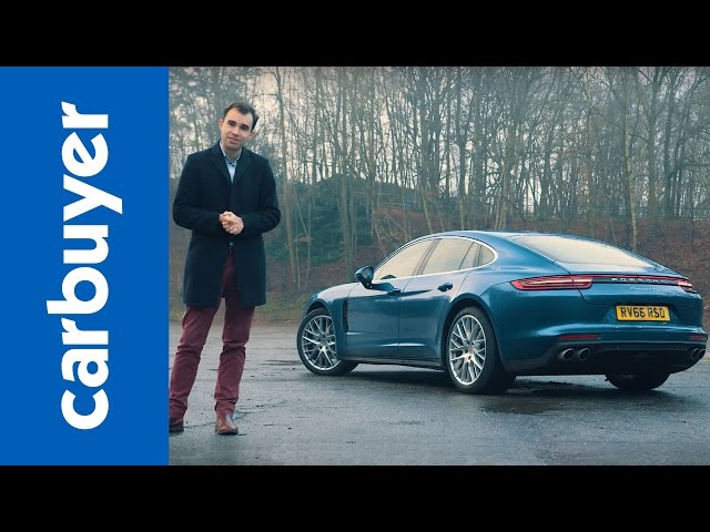 Porsche Panamera hatchback 2017 review - Carbuyer - YouTube