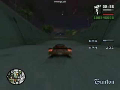 Ferrari Enzo no GTA San Andreas