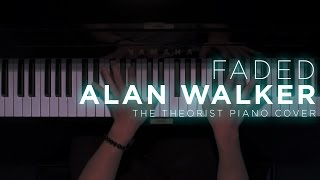 Download Lagu Alan Walker - Faded | The Theorist Piano Cover Gratis STAFABAND