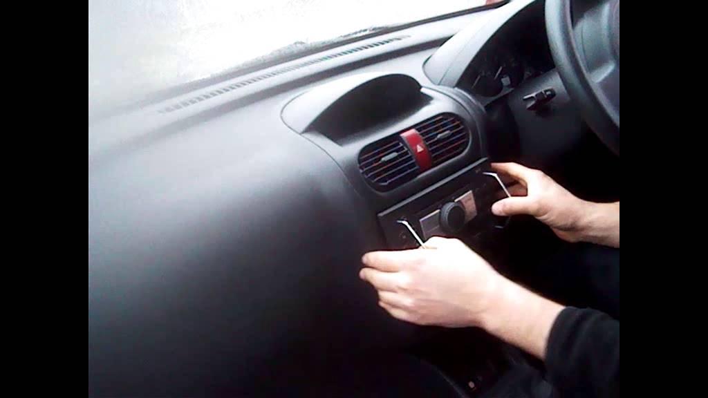 Radio Removal Vauxhall Corsa 2005 2010 JustAudioTips
