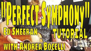 34 Perfect Symphony 34 Ed Sheeran With Andrea Bocelli Acoustic Guitar Tutorial