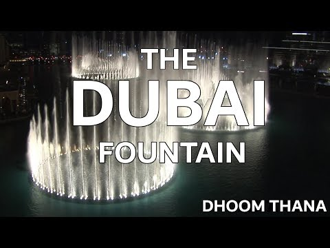 The Dubai Fountain: Dhoom Thana - Shot edited With 5 Hd Cameras - 4 Of 9 (high Quality!) video