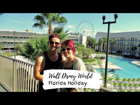 Florida holiday part 1 - The journey/Pool time VLOG