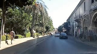 Driving in Famagusta, Cyprus (Oct 14, 2017)