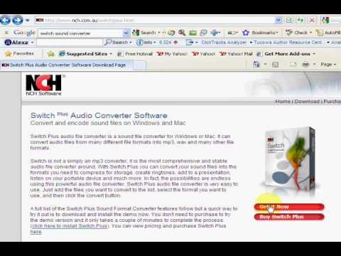 Switch | Audio Converter | MP3 Converter