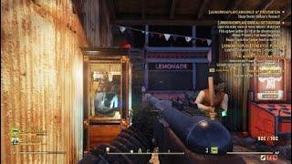 Fallout 76 fair talk with 2 sleepy boys