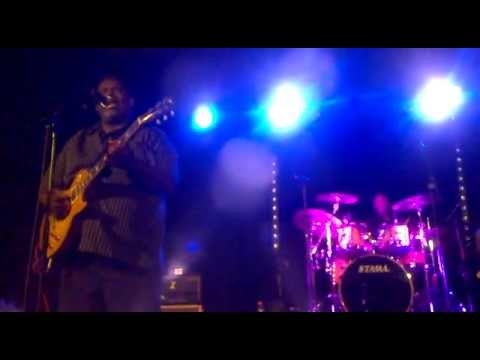 Michael Burks Band 'The last ever video' Zingem Bluesnight, Zingem, Belgium, May 5 2012