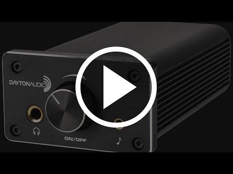 Dayton Audio DTA-120 Class T Digital Mini Amplifier 60 WPC