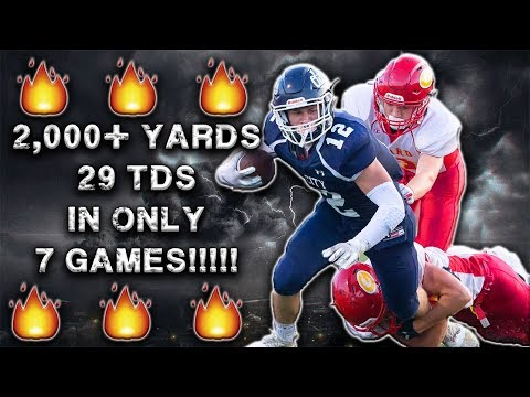 He's The Top Rusher In High School Football And You've Never Heard Of Him!!!