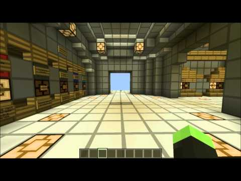 Minecraft; Redstone Tetris