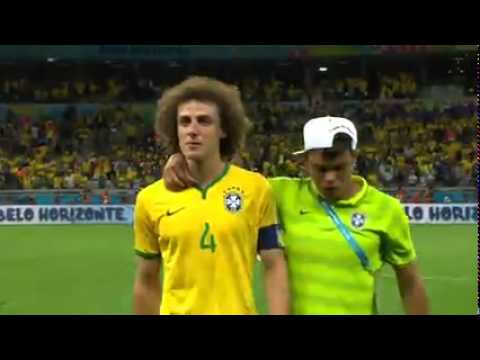 Crying Moments Brazil Vs Germany 2014