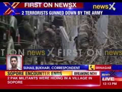 Two Terrorists Killed in Encounter in Jammu and Kashmir's Sopore