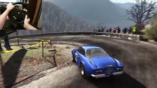 Dirt Rally | Renault Alpine A110 AMAZING sound | Steering wheel gameplay