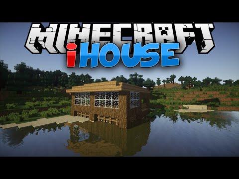 Minecraft Mods    INSTANT HOUSES    Mod Showcase [1.7.10]