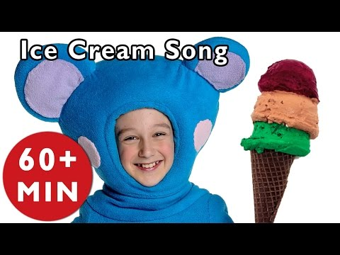 Ice Cream Song And More | Nursery Rhymes From Mother Goose Club! video