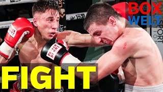 Onur Kocer vs Nikola Ivkovic - 4 rounds welterweight - 10.02.2018 - LEO's Boxgym, München