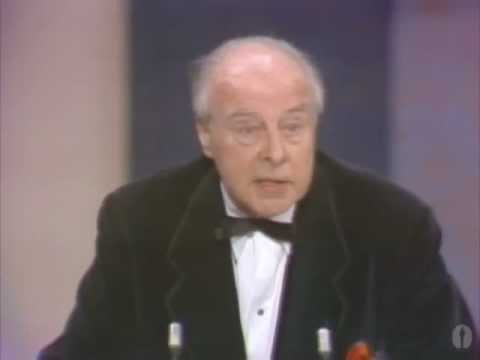 John Houseman winning Best Supporting Actor for