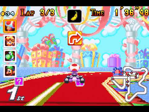 Mario Kart - Super Circuit - Star cup GP - Mario Kart - Super Circuit (GBA) - Vizzed.com Play - User video