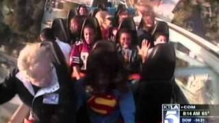 Gayle Anderson - Superman Escape From Krypton (KTLA - March 9th 2011)