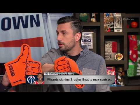 The Starters: Is Beal Worth Max Contract? | Warriors vs Thunder | NBA PLAYOFFS | 5.24.16