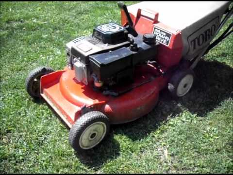 Toro Gts Lawn Mower Youtube