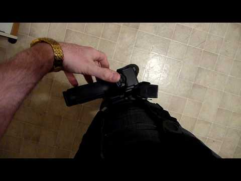 Serpa Level 3 thigh holster review