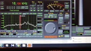 Russian navy VLF RTTY transmission,18,1 khz.