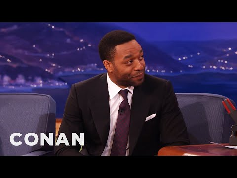 Chiwetel Ejiofor: Michael Fassbender Is A Paintball Fiend  - CONAN on TBS