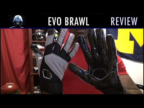 Evo Brawl Football Gloves Review - Ep. 212