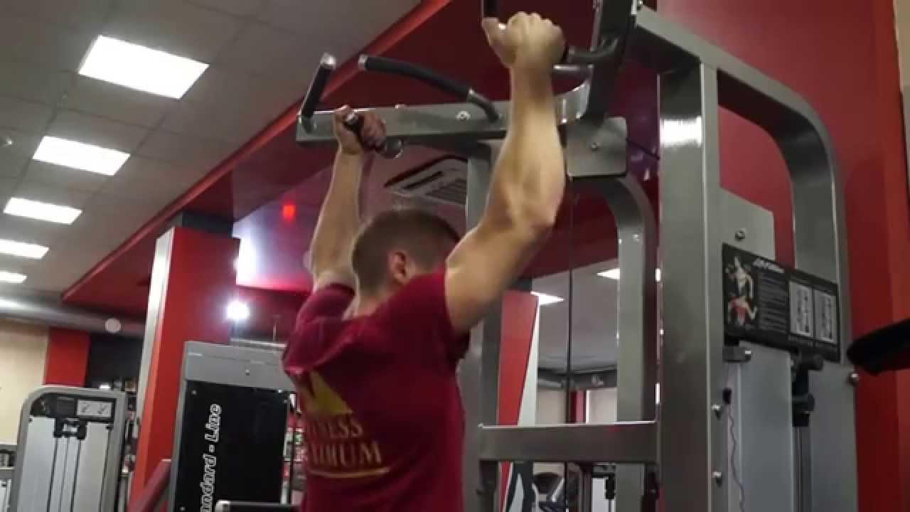 Хваты для подтягивания на фитнес-оборудовании