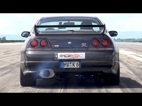 01:24 480HP Nissan Skyline R33 GTR V Spec   Fast Accelerations!