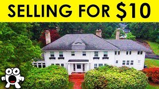 Top 10 Famous Mansions No One Wants To Buy For Any Price  from BE AMAZED