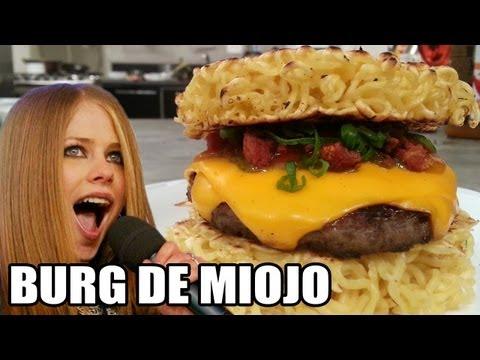 Hambúrguer de Miojo!