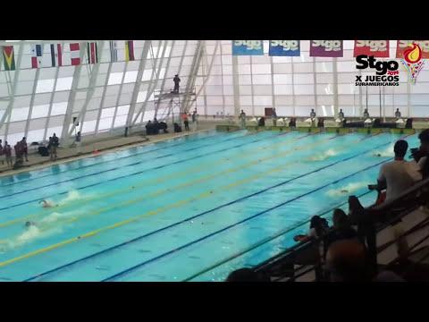 ODESUR 2014 - Natación - 4x100 Combinado Varones