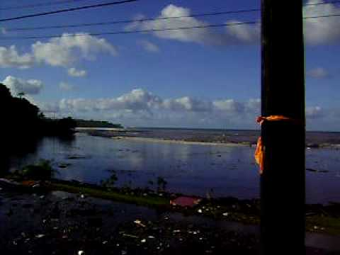 American Samoa Tsunami Waves in Amaluia, Part 1