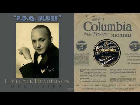 1927, PDQ Blues, Fletcher Henderson Orch. Hi Def, 78RPM