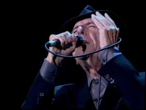 LEONARD COHEN - THE FUTURE - LIVE IN LONDON