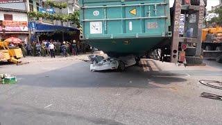 Tai nạn giao thông nghiêm trọng tại Quốc lộ 10, TP Nam Định