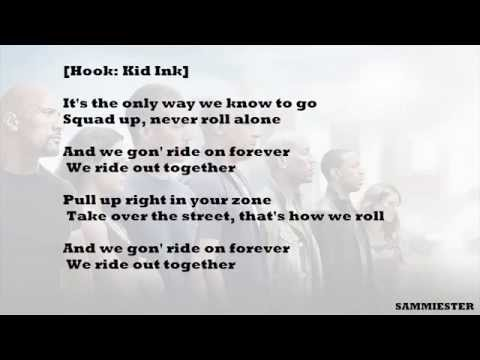 Hd lyrics music ride out kid ink ft rich homie quan tyga wale