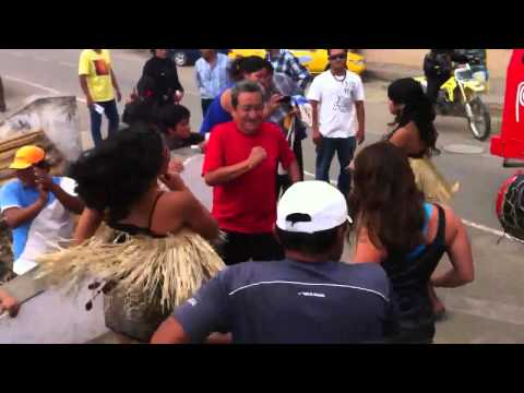 Peruvian Amazonian Street Dance - The Inca Rally 2012