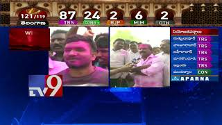 TRS leads in Warangal East and West