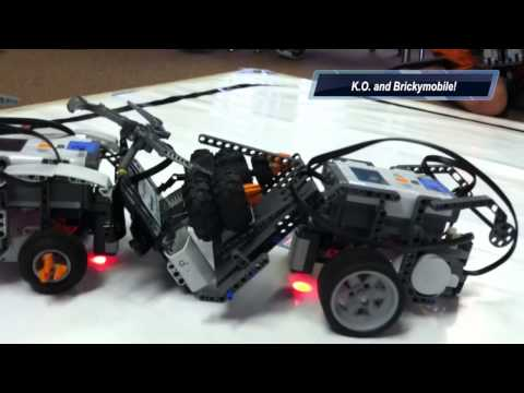Sumo Bot Competion, Session 1,  Summer 2014