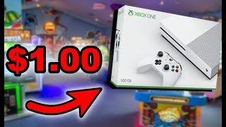 Won a Xbox One for $1.00 at Arcade Game! | JOYSTICK